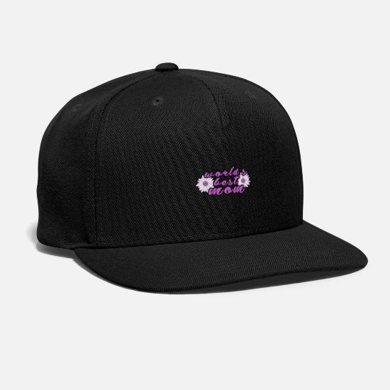 Mother's Day Caps - Mother day - Snapback Cap black