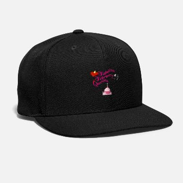 February February born - Snap-back Baseball Cap
