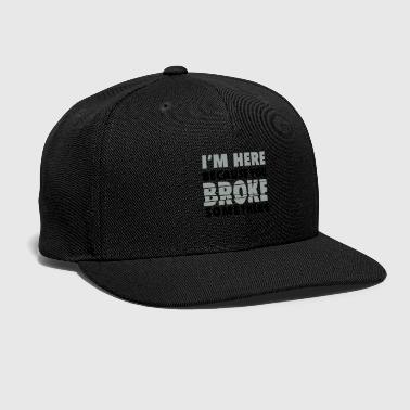 Linux I'm here because you broke something - Snap-back Baseball Cap