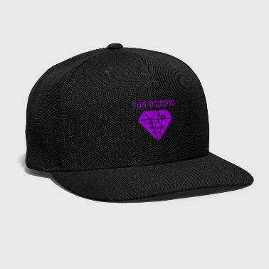 Cant they cant break me - Snap-back Baseball Cap