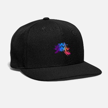 Watercolor Watercolor Aquarius - Snapback Cap