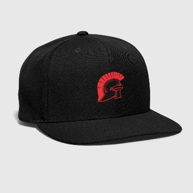 Trojan Trojans helmet of war - Snap-back Baseball Cap