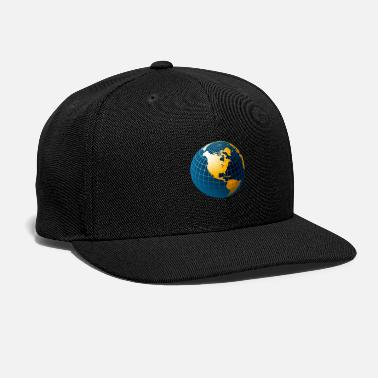 Planet Earth planet-earth-picture - Snapback Cap