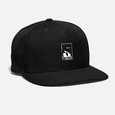 Polaroid Cat Girl - Snapback Cap