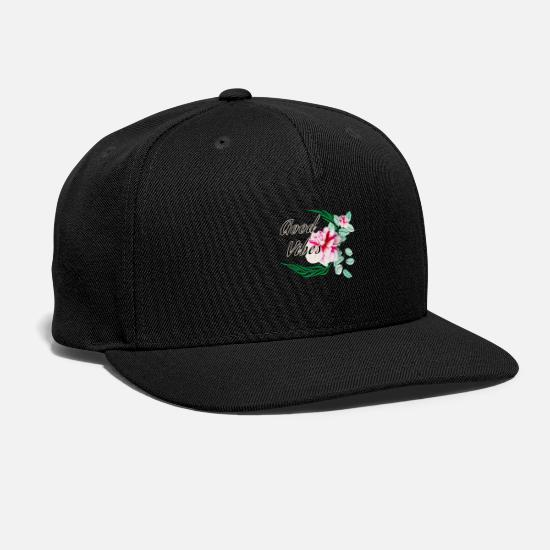 Good Vibes Caps - Good vibes - Snapback Cap black