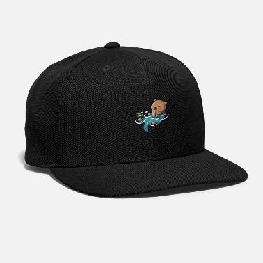 The Otter Side of the First Sip - Snapback Cap