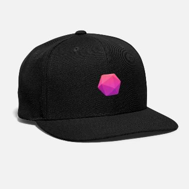 D-day Pink D20 - D&D Dungeons and dragons dnd - Snap-back Baseball Cap