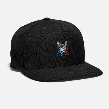 218f692c358 Pussy Cat with cubes - Snapback Cap