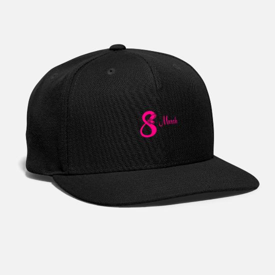 Octave Caps - March butterfly - Snapback Cap black