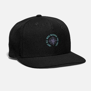 Lost Not All Who Wander Are Lost - Snapback Cap