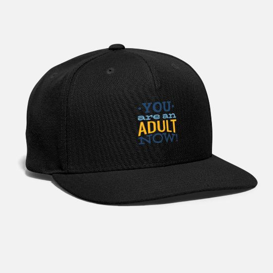 Bars Caps - bar mitsva bar mitzva bar mitsve sayings - Snapback Cap black