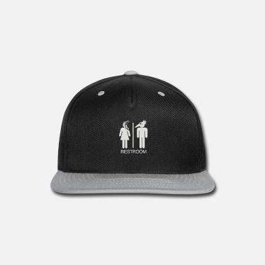 Restroom Restroom for the Recently Deceased - Snapback Cap