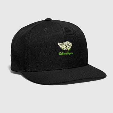 Paper rolling papers - Snap-back Baseball Cap
