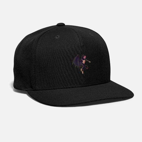 Pinup Caps - Demon Boy Pinup - Snapback Cap black