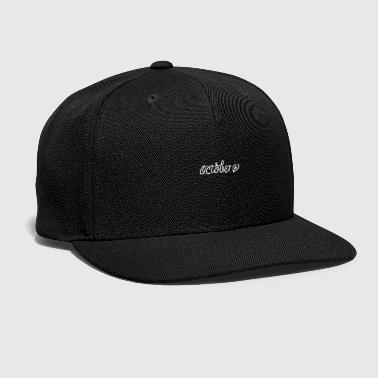 Feast Day October - Snap-back Baseball Cap