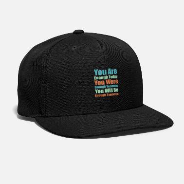 Cool Quote Self quote - Cool quote - Snapback Cap