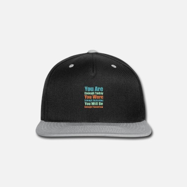 Quote Self quote - Cool quote - Snapback Cap
