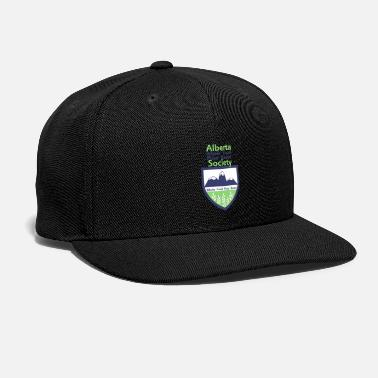 Crest With Text Above - Snapback Cap