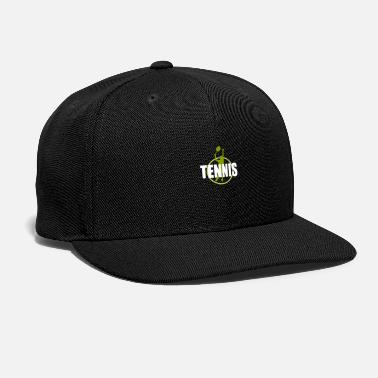 Court Tennis Tennis Player Design - Snapback Cap