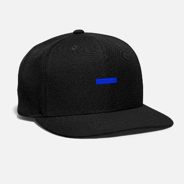 Rectangle Ultra Cynet Rectangle Blue - Snap-back Baseball Cap