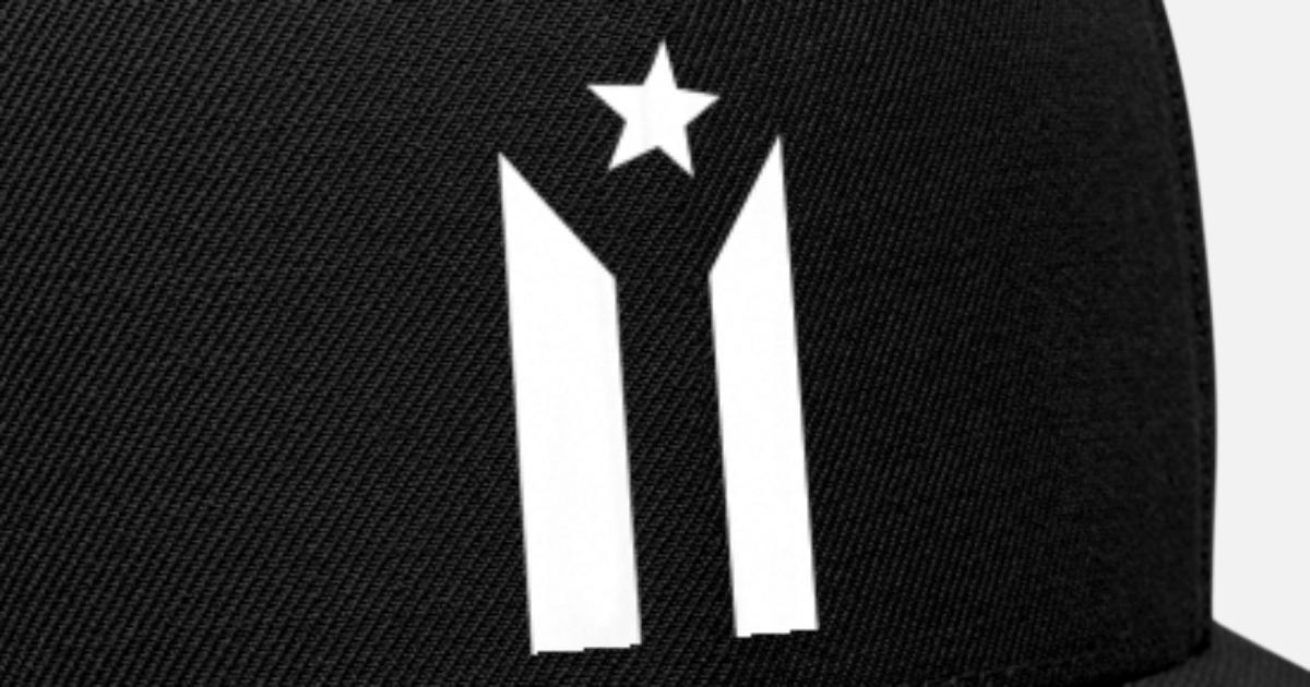 9c0be1b4ec341 PUERTO RICO BLACK FLAG Snapback Cap