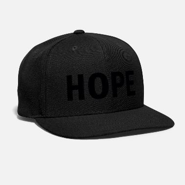Hope Hope (black) - Snapback Cap