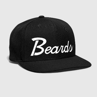 beards - Snap-back Baseball Cap