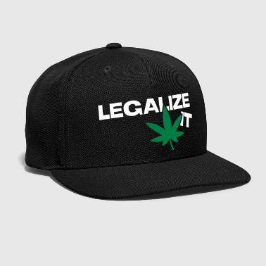 Weed Legalize it - Snap-back Baseball Cap