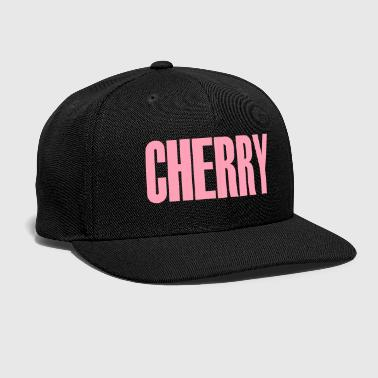 cherry - Snap-back Baseball Cap