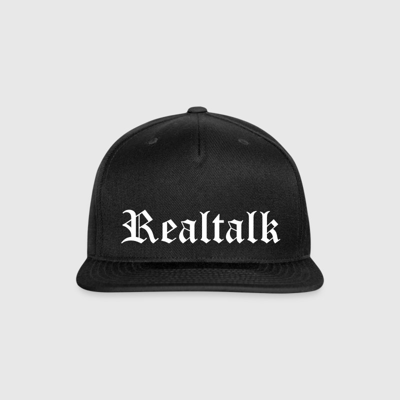 Realtalk - Snap-back Baseball Cap