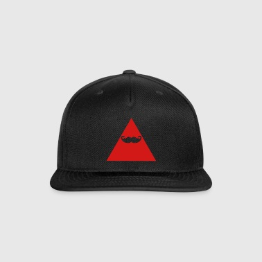 Hipster Triangle - Snap-back Baseball Cap