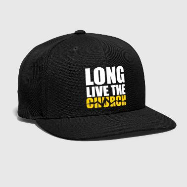Long Live The Church Thermos  - Snap-back Baseball Cap