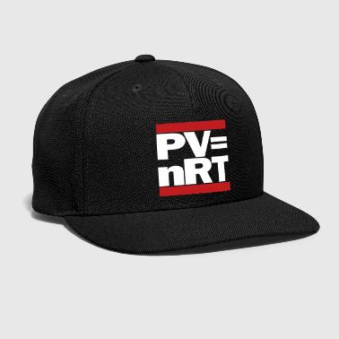 Chemistry Hip-Hop-style: PV = nRT (ideal gas equation) - Snap-back Baseball Cap