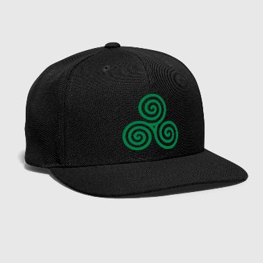 Celtic spiral - Snap-back Baseball Cap