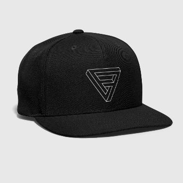 Optical Illusion -  Impossible figure - Triangle - Snap-back Baseball Cap