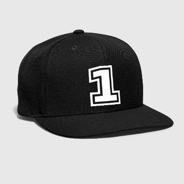 Number One - Snap-back Baseball Cap