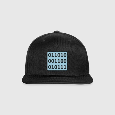 Binary Nerd - Snap-back Baseball Cap