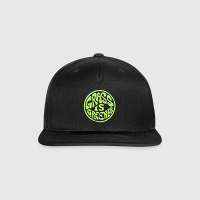 Grass is Greener - Snap-back Baseball Cap