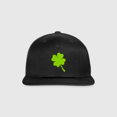 FOUR LEAF CLOVER - Snap-back Baseball Cap