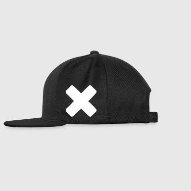 X - Snap-back Baseball Cap