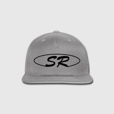 Grey cap SR logo - Snap-back Baseball Cap