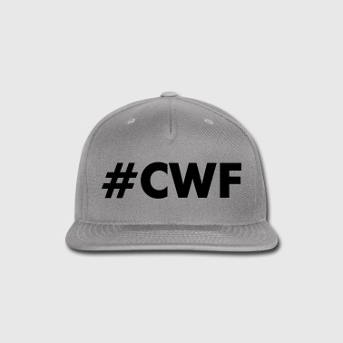 CWF Women's Tee by American Apparel - Pink/White H - Snap-back Baseball Cap