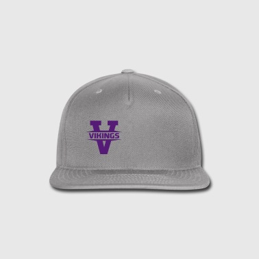 vikings - Snap-back Baseball Cap