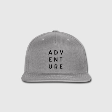 Adventure Travel Quote  - Snap-back Baseball Cap