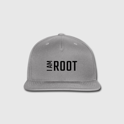 I am ROOT - Snap-back Baseball Cap