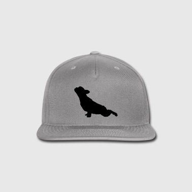 French Bulldog Yoga - Snap-back Baseball Cap