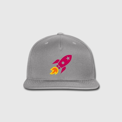 rocket - Snap-back Baseball Cap