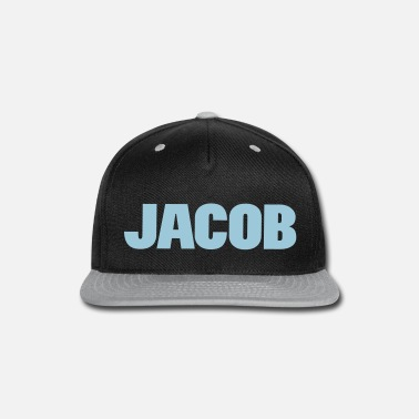 Jacob ❤✦Jacob-Best Top Male Name Jacob Vector Design✦❤ - Snapback Cap