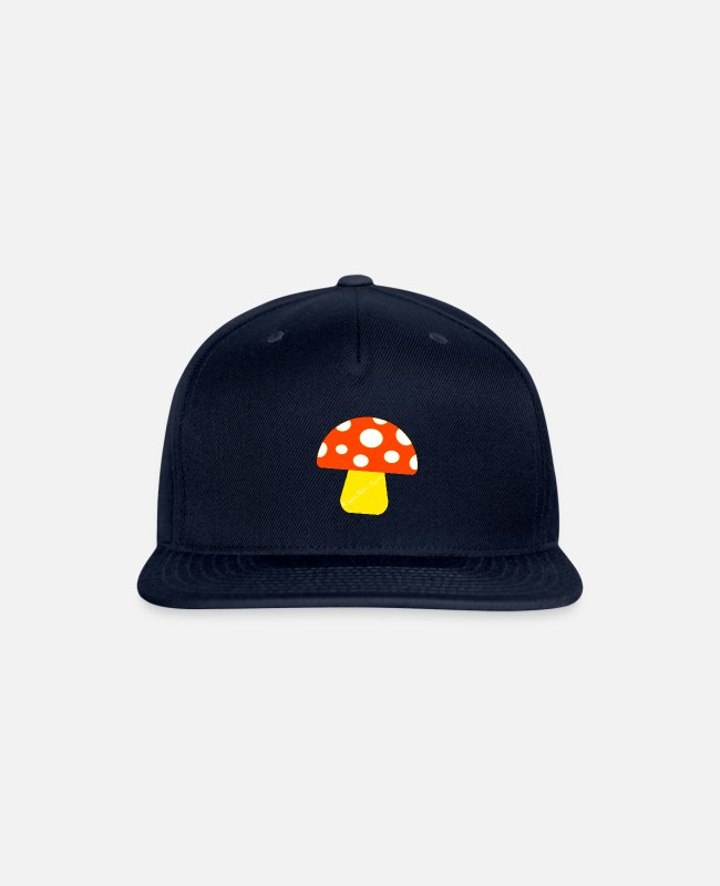 "Fan Caps & Hats - ""Ramseys Mushroom"" - Snapback Cap navy"