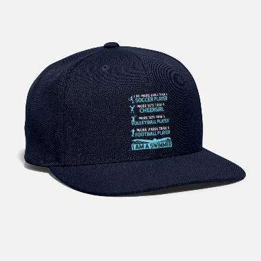 I Am A Swimmer I Am A Swimmer Athlete - Snapback Cap